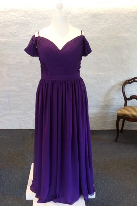 Darl Purple Party Dress